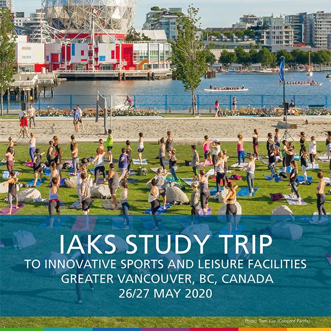 IAKS Vancouver 2020 cover